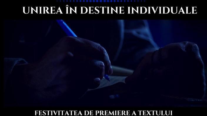 """""""Unirea în destine individuale"""" - eveniment dedicat Centenarului Marii Uniri"""