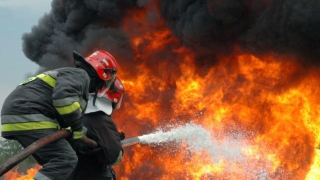VIDEO | Pompierii au efectuat exerciții la Portul Giurgiulești