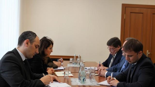 Reprezentantul Rusiei, Serghei Gubarev, și vicepremierul pentru reintegrare, Cristina Lesnic, au discutat despre problema transnistreană