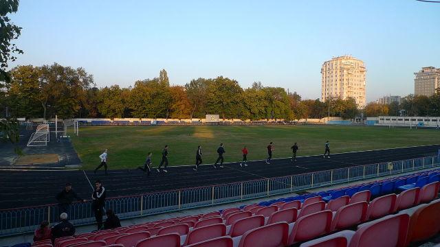 Stadionul Dinamo din Chișinău s-a deschis după renovare