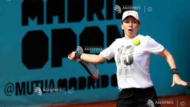 Tenis | Simona Halep, calificată în turul al doilea la Madrid (WTA)