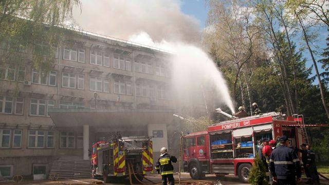 S-a aflat cauza producerii incendiului de la Institutul de Zoologie din capitală