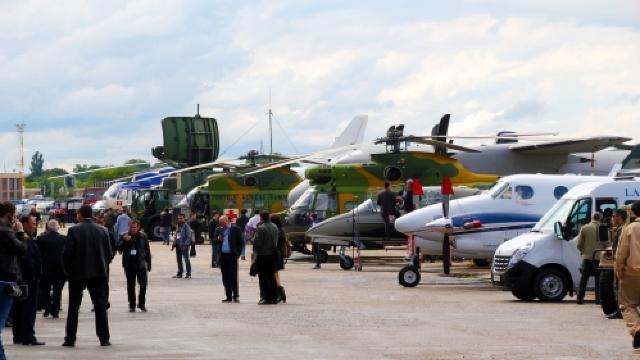 Peste 200 de companii, la expoziţia Black Sea Defense & Aerospace de la București