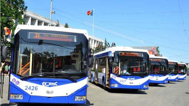 Troleibuzele de pe noua rută, spre orașul Sângera, au pornit de la Chișinău. Care este itinerarul