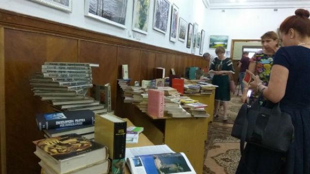 1.800 de titluri de carte în limba italiană au ajuns la Biblioteca Națională