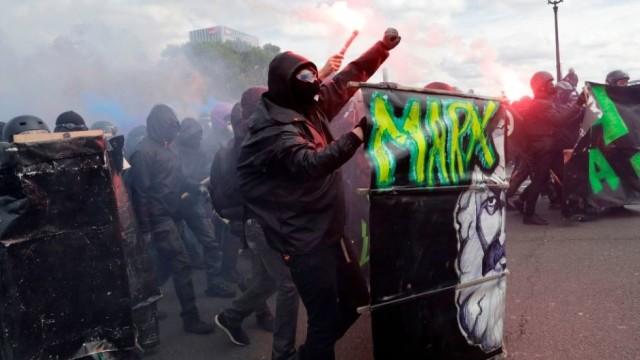 FOTO / VIDEO | 109 persoane au fost reținute în urma incidentelor violente de la Paris