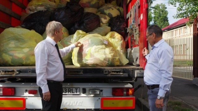 Primăria Sectorului 1 din București, cu 12 tone cu ajutoare pentru oamenii sărmani din raionul Orhei