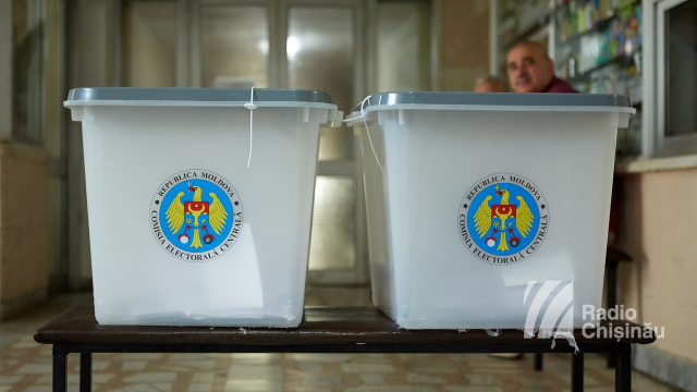 FOTO | Cea mai mică rată de participare, înregistrată în municipiul Chișinău
