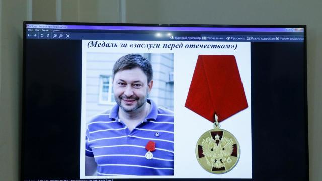 Kievul cere arestarea directorului agenţiei RIA Novosti-Ucraina, acuzat de trădare de stat în favoarea Rusiei