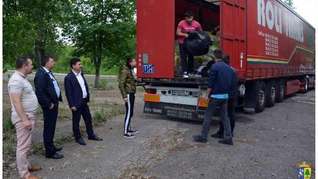 România a oferit tone de ajutor umanitar oamenilor săraci din raionul Orhei