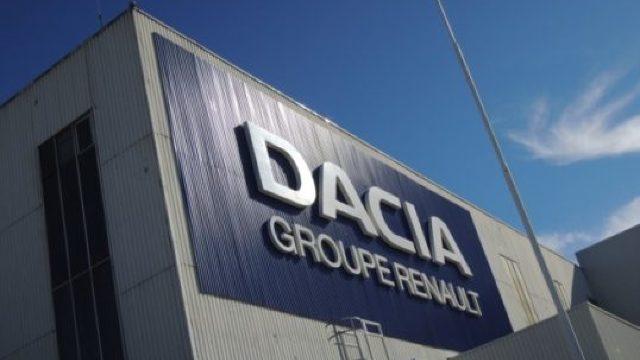 Vânzările de autoturisme Dacia în Europa au crescut cu 15%