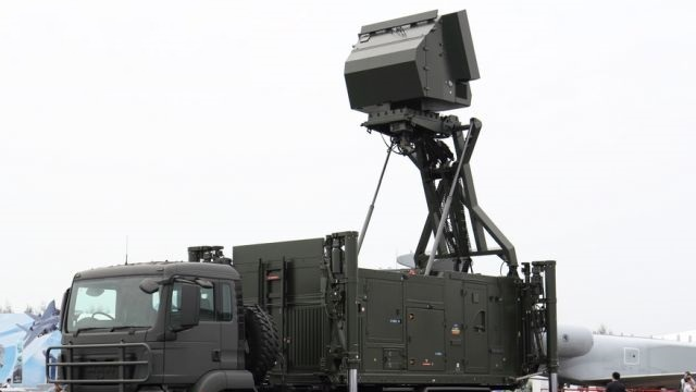 Radarul care se montează în 15 minute, expus la Bucureşti în cadrul expoziţiei BSDA