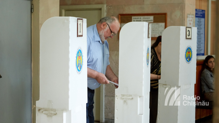 Alegeri locale | PREZENȚA, date FINALE: 35 la sută dintre alegători s-au prezentat la vot, la Chișinău și Bălți, până la 21.00