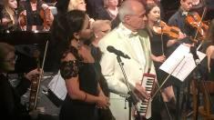 FOTO | Eugen Doga, într-un concert la Viena, în comemorarea lui Mihai Eminescu