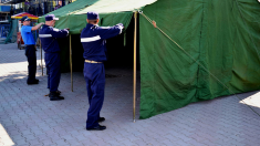 Corturi anticaniculă, instalate în mai multe regiuni ale R.Moldova