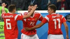 Naționala Rusiei, aproape de calificarea în optimile Cupei Mondiale