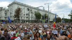 REZOLUȚIE | Protestele de la Chișinău vor continua până la validarea mandatului lui Andrei Năstase (FOTO/VIDEO)