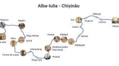Reuniune istorică la Alba Iulia. România și R.Moldova aprind Flacăra Unirii