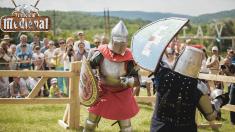 """Un turnir internațional de lupte istorice, la Vatra, în cadrul """"Festivalului Medieval"""" de la Vatra"""