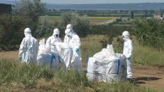 FOTO | Ultimul lot de pesticide din raionul Ungheni a fost evacuat pentru a fi distrus în Polonia