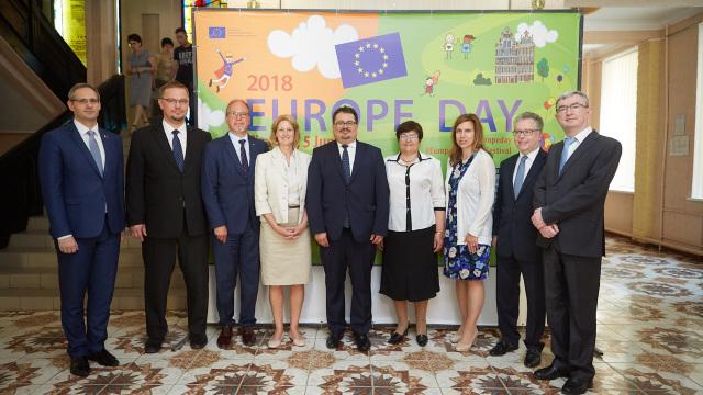 FOTO | Zilele Europei, la Tiraspol. Standul României - important punct de atracție pentru vizitatori