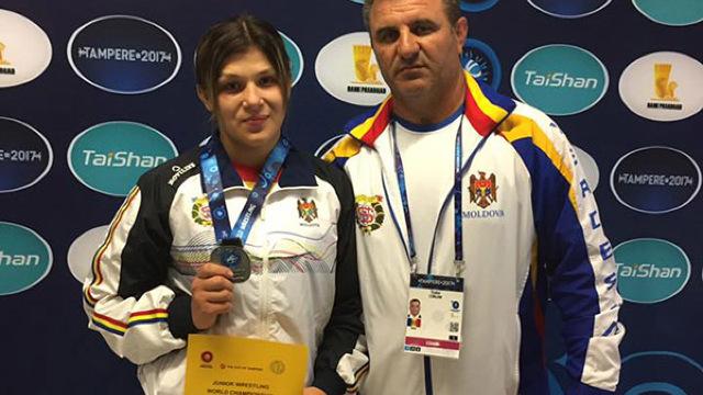 Luptătoarea Anastasia Nichita a câștigat medalia de argint la Campionatul European