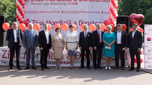 """Donatorii de sânge sunt așteptați în Grădina Publică """"Ștefan cel Mare"""""""