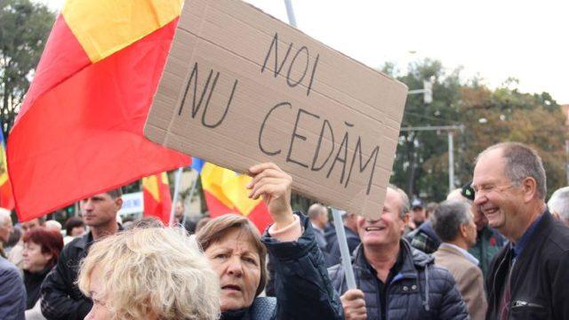 VIDEO | Un nou protest al Comitetului de rezistență națională, în Capitală