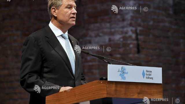 Klaus Iohannis, la Munchen: Românii cred cu tărie în proiectul european
