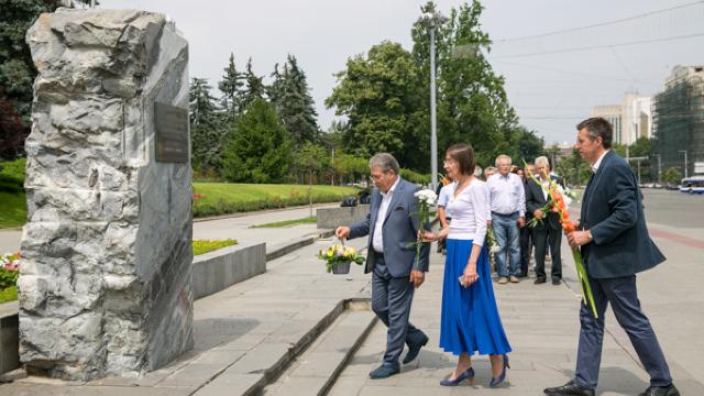 VIDEO | Liberalii au comemorat anexarea Basarabiei de la 1940