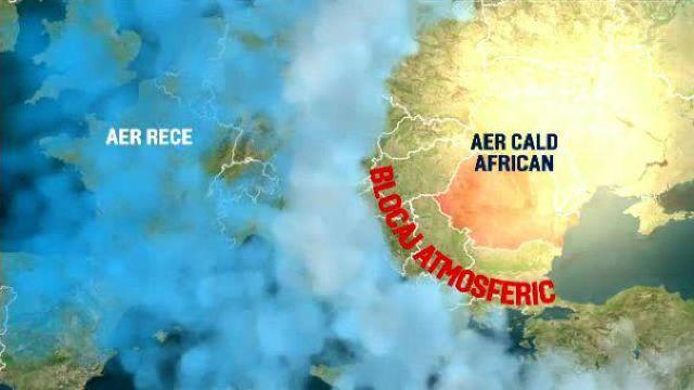 România se confruntă cu un blocaj atmosferic, ce nu s-a mai întâlnit de 72 de ani