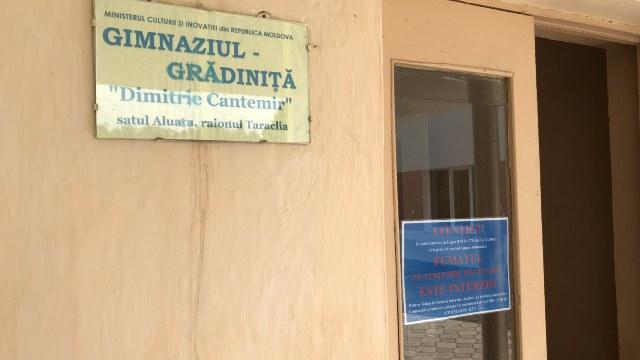 Școala românească din satul Aluatu, raionul Taraclia, a fost reparată. România a alocat 2,5 milioane de lei