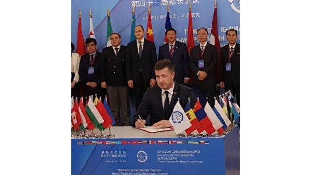 R.Moldova va putea să exporte mărfuri prin Portul Giurgiulești spre statele europene