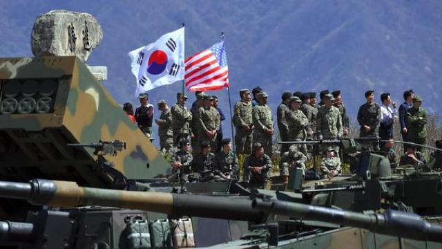 SUA nu îşi vor retrage trupele din Coreea de Sud