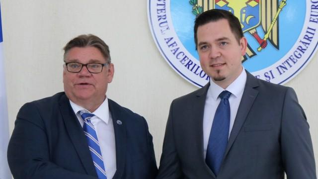 Ministrul de Externe al Finlandei, Timo Soini: R.Moldova trebuie să continue reformele