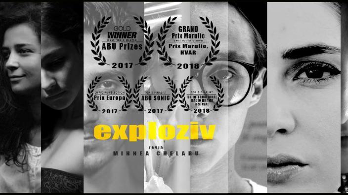 Al treilea aur pentru producţia de teatru radiofonic a Radio Romania, Exploziv, la New York Festivals World's Best Radio Programs 2018