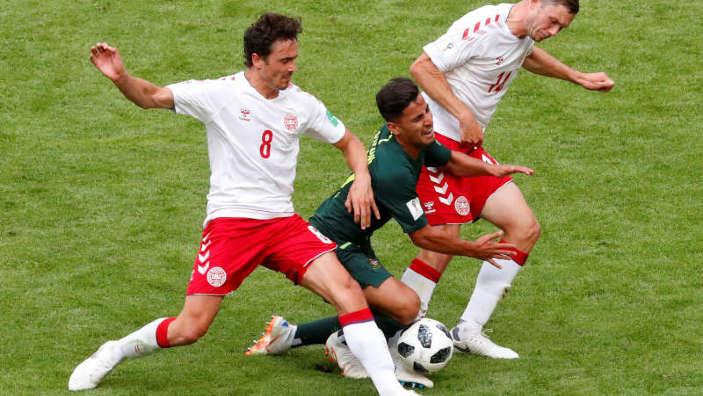 Fotbal - CM 2018 | Danemarca - Australia 1-1