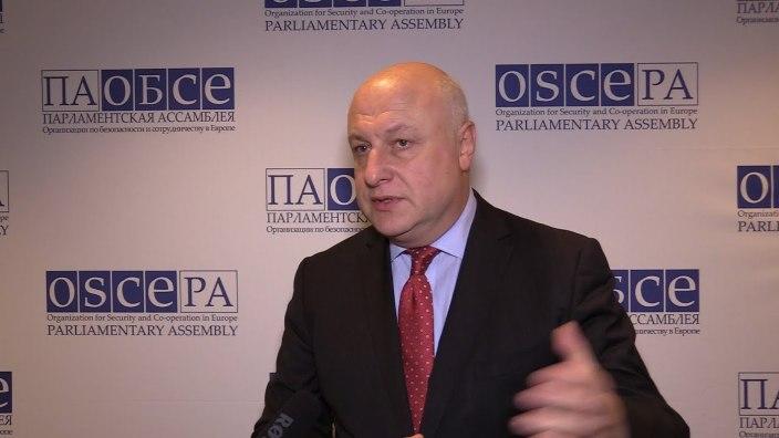 Președintele Adunării Parlamentare a OSCE, George Tsereteli, într-o vizită de lucru în Republica Moldova