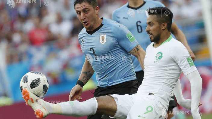Fotbal - CM 2018 | Uruguay, calificată în optimile de finală, după 1-0 cu Arabia Saudită
