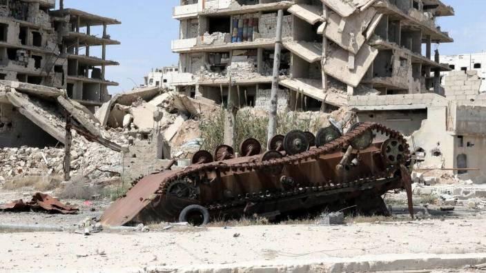 Noi bombardamente ale aviației ruse asupra pozițiilor controlate de rebeli în sudul Siriei