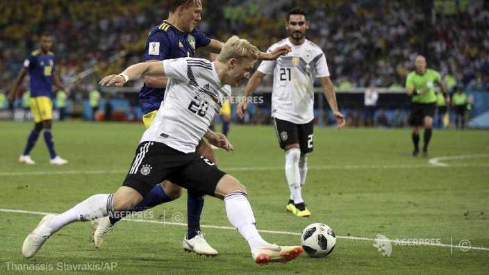 Fotbal - CM 2018 | Germania, victorie dramatică în faţa Suediei, cu 2-1