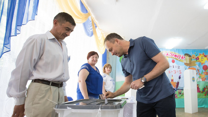 """Alegeri Chișinău   Andrian Candu a votat pentru """"a pune punct instabilității"""" de la Primăria Capitalei"""