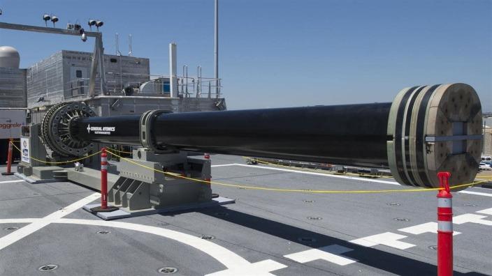 China ar putea avea un tun electromagnetic, gata de război până în 2025