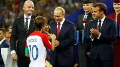 CM 2018   Cel mai bun jucător al turneului final, croatul Luka Modric