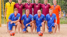 Fotbal pe plajă | R.Moldova – Kazahstan 6:7