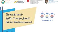 "Turneul ""Lelița Franta joacă sârba moldovenească"