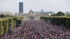 FOTO | Atmosferă fantastică la Paris şi Zagreb. La pauză, Franța conduce Croația cu 2-1, în finala CM 2018 din Rusia