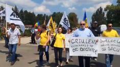 """UPDATE   Un nou protest al Mișcării de Rezistență ACUM. """"Criuleni vrea schimbare, Plaha la închisoare!"""" (VIDEO)"""