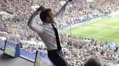 VIDEO | Emmanuel Macron a dansat în vestiare, alături de fotbalişti