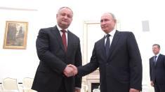 Igor Dodon s-a întâlnit cu Vladimir Putin. Un nou atac la adresa instituțiilor internaționale care cer retragerea trupelor ruse din Transnistria